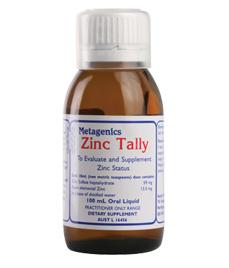 zinc-tally